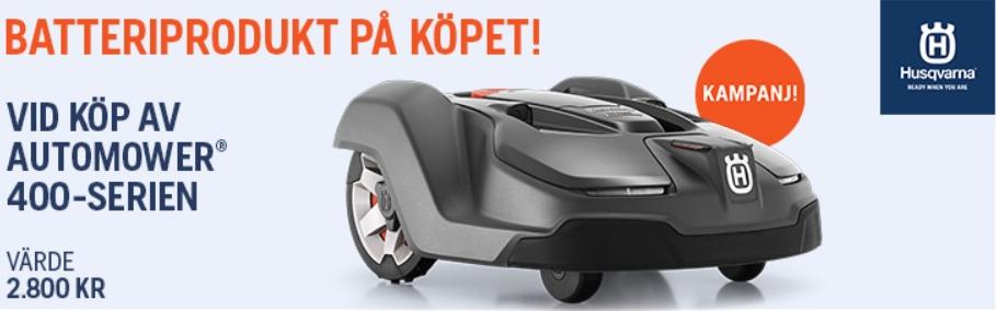 Automower-Husqvarna-kampanj